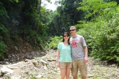 Tom and his lovely wife on their Honeymoon - from Harrisburgh PA