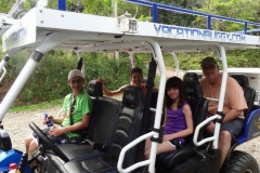 Michelle, Alan, Demir and Abbe from Wisconsin on the Jungle/Waterfall tour