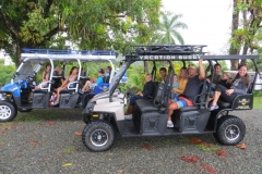 Largest Buggy group on the Jungle Waterfall Tour 16 people - Casa Paraiso