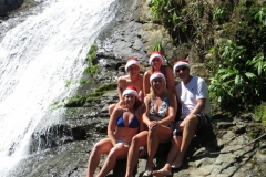 New Years Eve celebration at the swimming hole - Great Virginia Family
