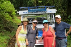 Donna, Mary Pat, Helen and Jim from NY and Ohio on the Jungle/waterfall tour