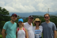 Gary and his family from California on the Jungle/Waterfall tour
