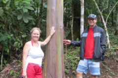 Christine and Tim from South Caronia on the Jungle/Waterfall tour